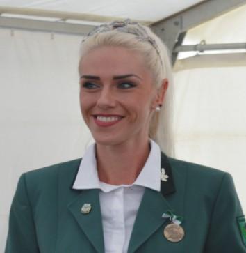Schützenkönigin Romy Staudte