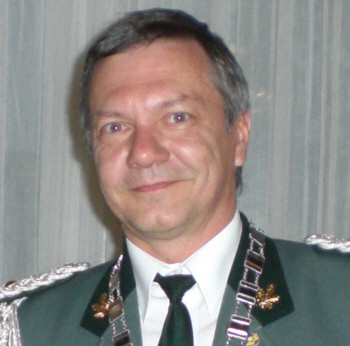 Schützenkönig Dieter Kalisch