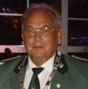 Schützenkönig Bruno Krüger