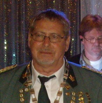 Schützenkönig Wilfried Herz