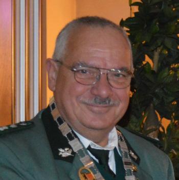 Schützenkönig Wolfgang Köhler